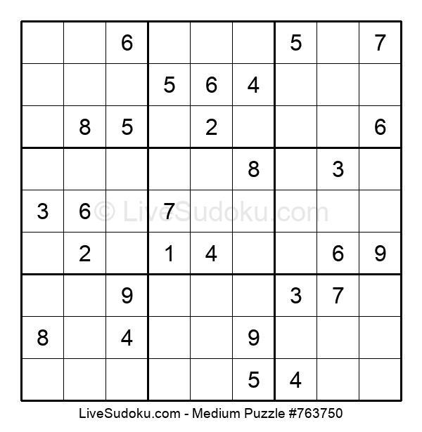 Medium Puzzle #763750