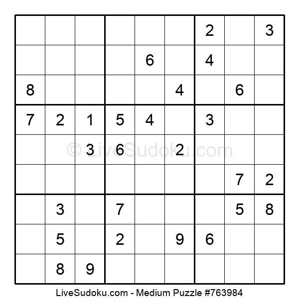 Medium Puzzle #763984