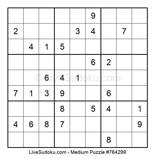 Medium Puzzle #764299