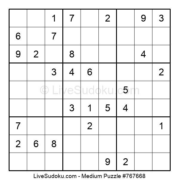 Medium Puzzle #767668