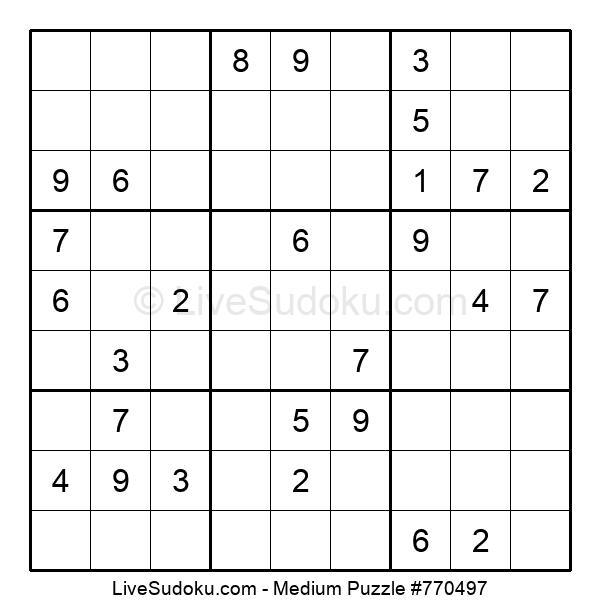 Medium Puzzle #770497