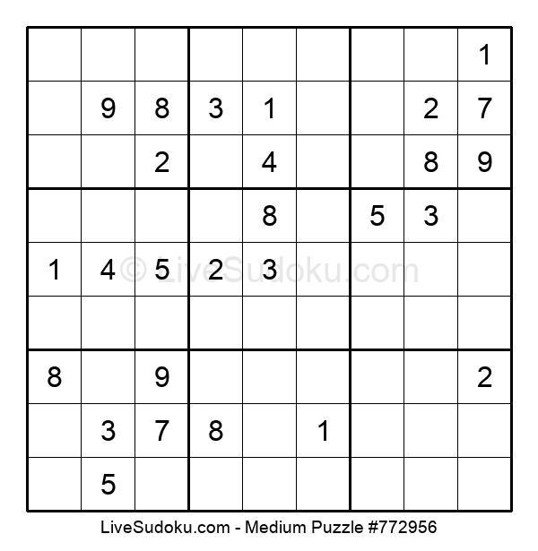 Medium Puzzle #772956