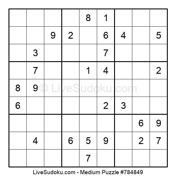 Medium Puzzle #784849