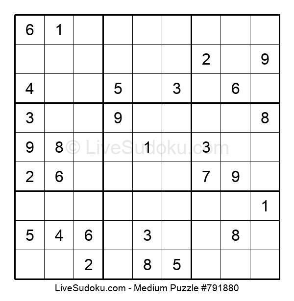 Medium Puzzle #791880