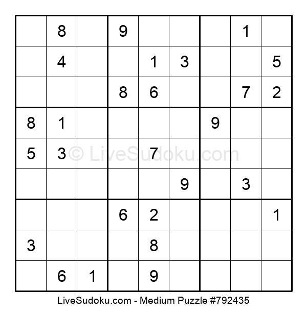 Medium Puzzle #792435