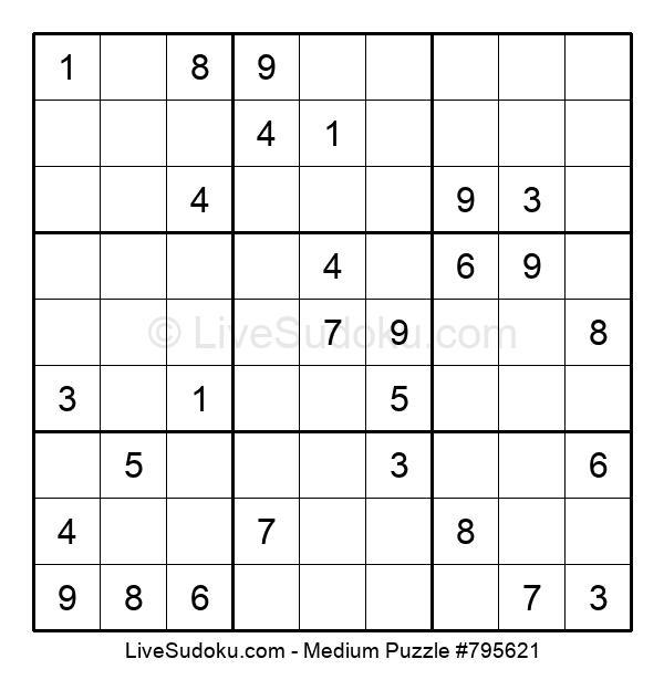 Medium Puzzle #795621