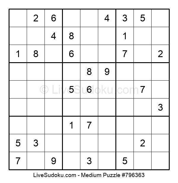 Medium Puzzle #796363