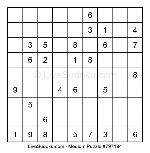 Medium Puzzle #797184