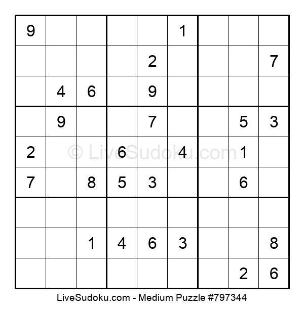 Medium Puzzle #797344