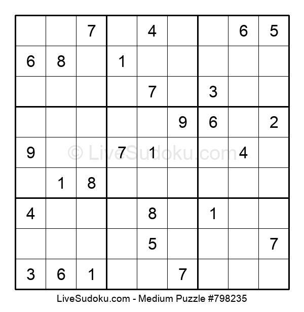 Medium Puzzle #798235