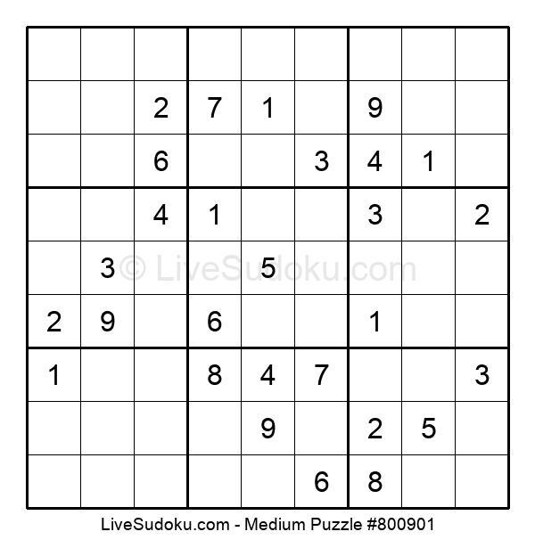 Medium Puzzle #800901