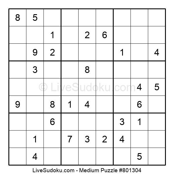 Medium Puzzle #801304