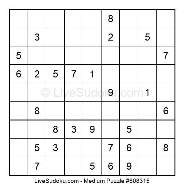 Medium Puzzle #808315