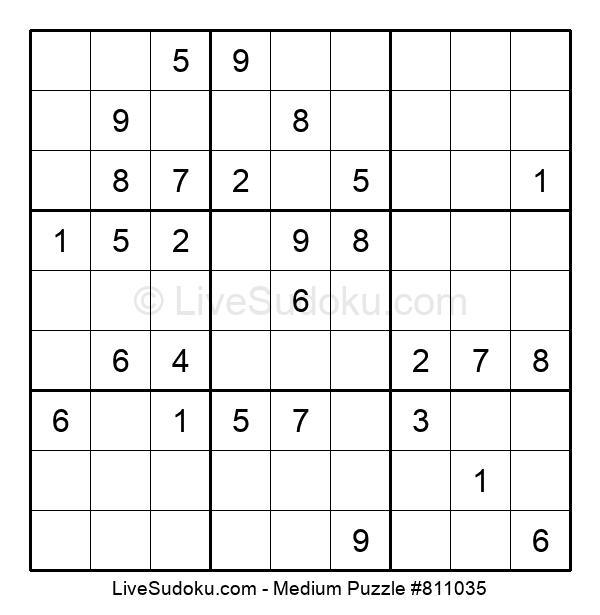 Medium Puzzle #811035