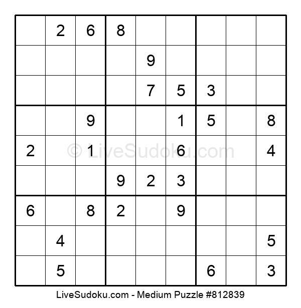 Medium Puzzle #812839