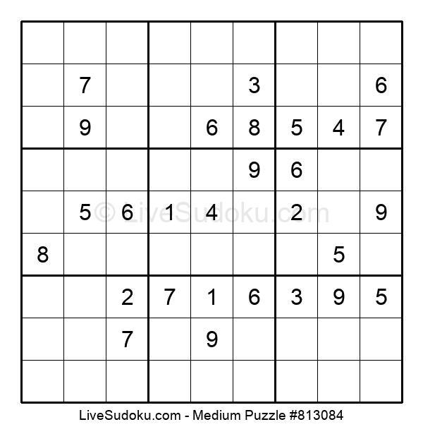 Medium Puzzle #813084