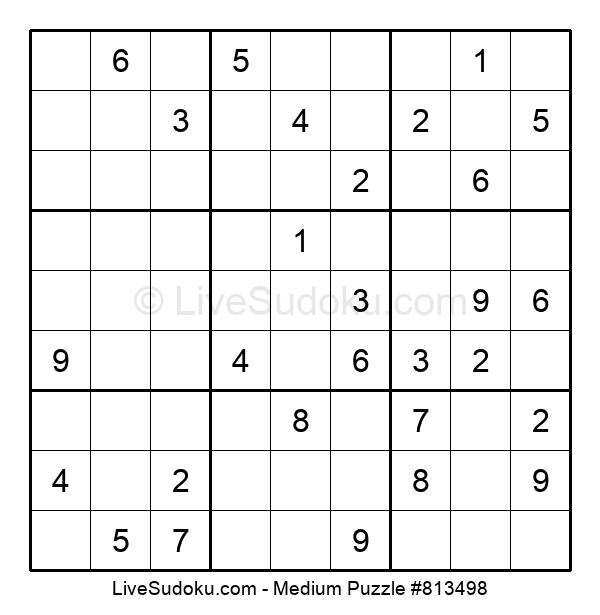 Medium Puzzle #813498