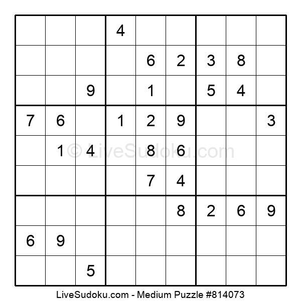 Medium Puzzle #814073