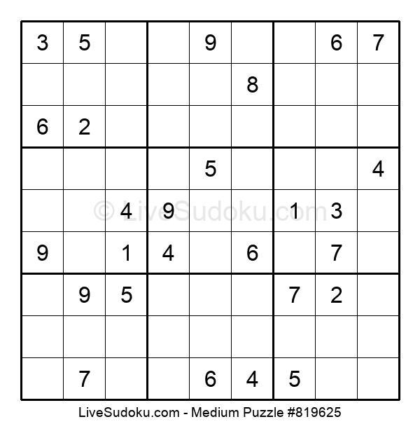 Medium Puzzle #819625