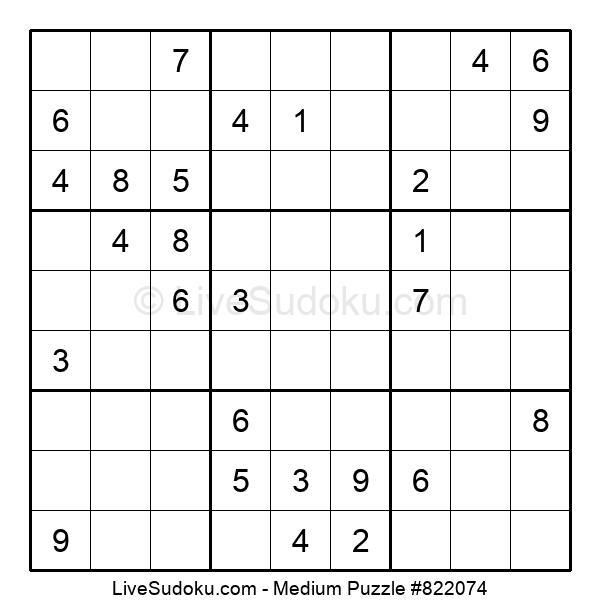 Medium Puzzle #822074