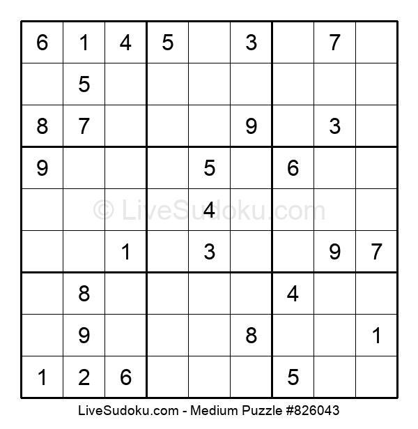 Medium Puzzle #826043