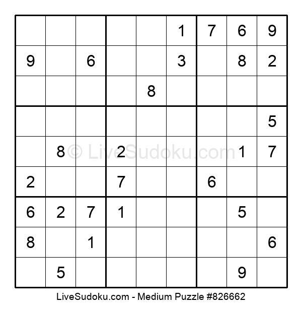Medium Puzzle #826662
