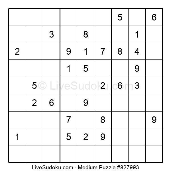 Medium Puzzle #827993