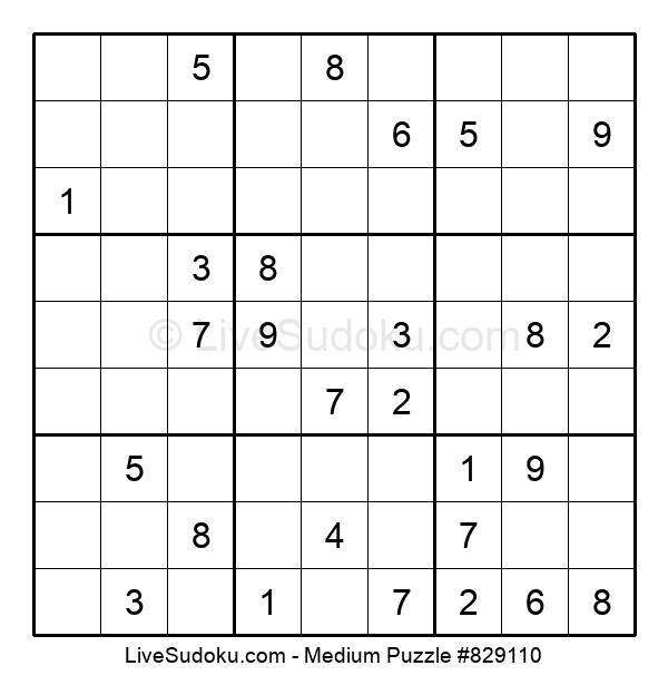 Medium Puzzle #829110