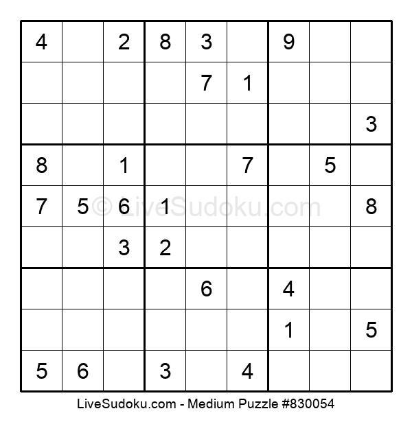 Medium Puzzle #830054