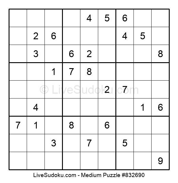 Medium Puzzle #832690