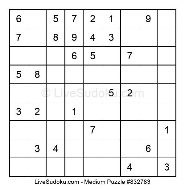 Medium Puzzle #832783