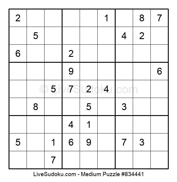Medium Puzzle #834441