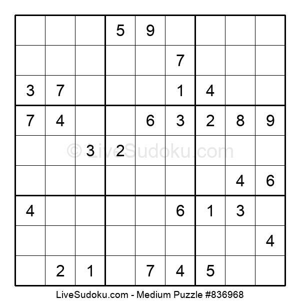 Medium Puzzle #836968