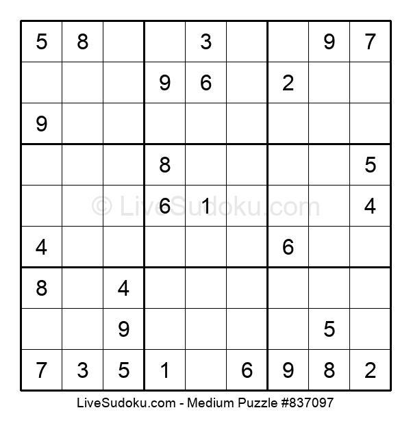 Medium Puzzle #837097