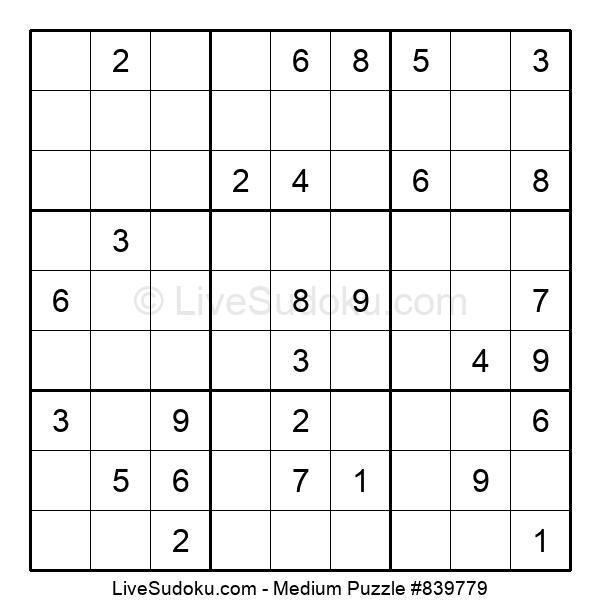 Medium Puzzle #839779