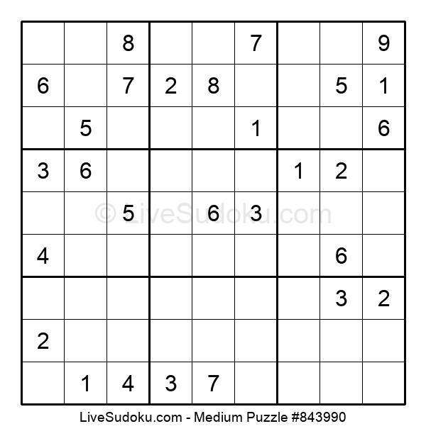 Medium Puzzle #843990