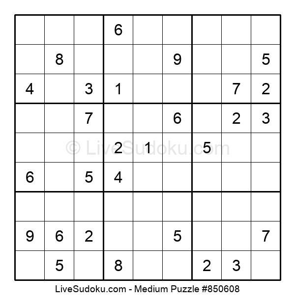 Medium Puzzle #850608
