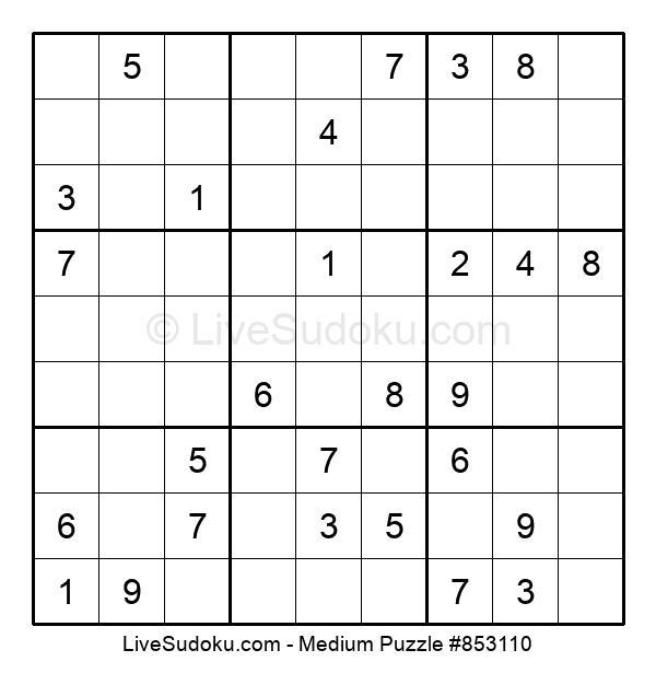 Medium Puzzle #853110