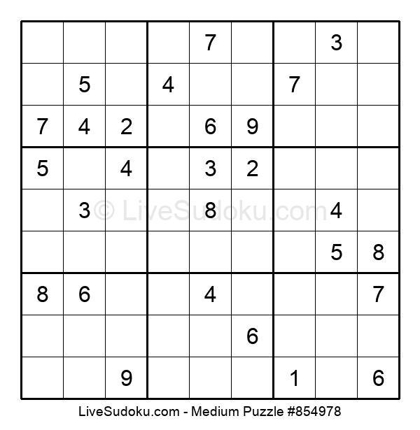 Medium Puzzle #854978