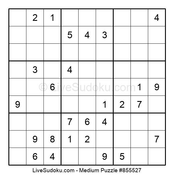 Medium Puzzle #855527