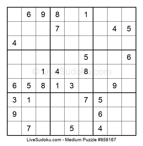 Medium Puzzle #858167