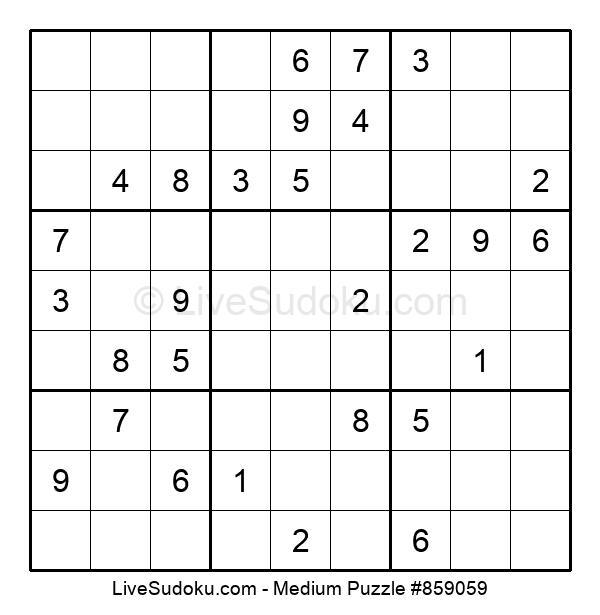 Medium Puzzle #859059