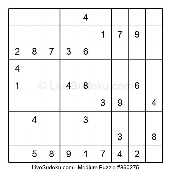 Medium Puzzle #860275