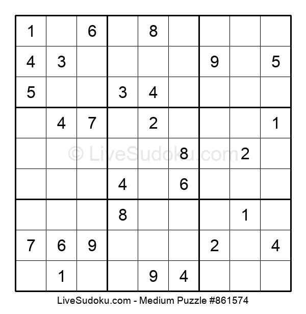 Medium Puzzle #861574