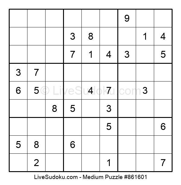 Medium Puzzle #861601