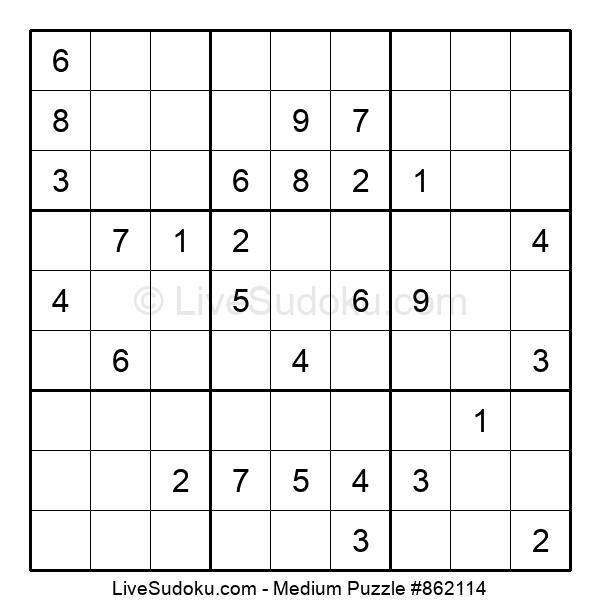Medium Puzzle #862114