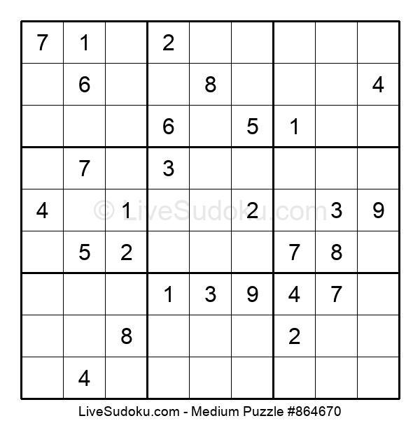 Medium Puzzle #864670