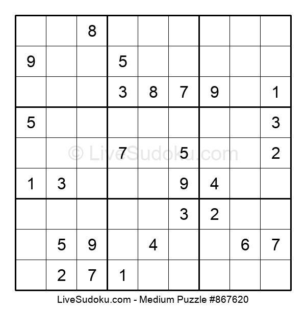 Medium Puzzle #867620