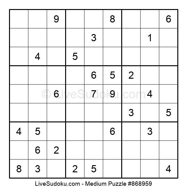 Medium Puzzle #868959