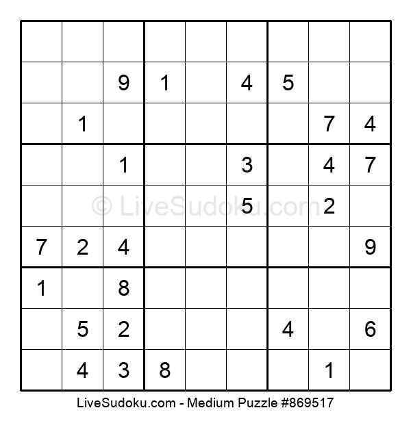 Medium Puzzle #869517